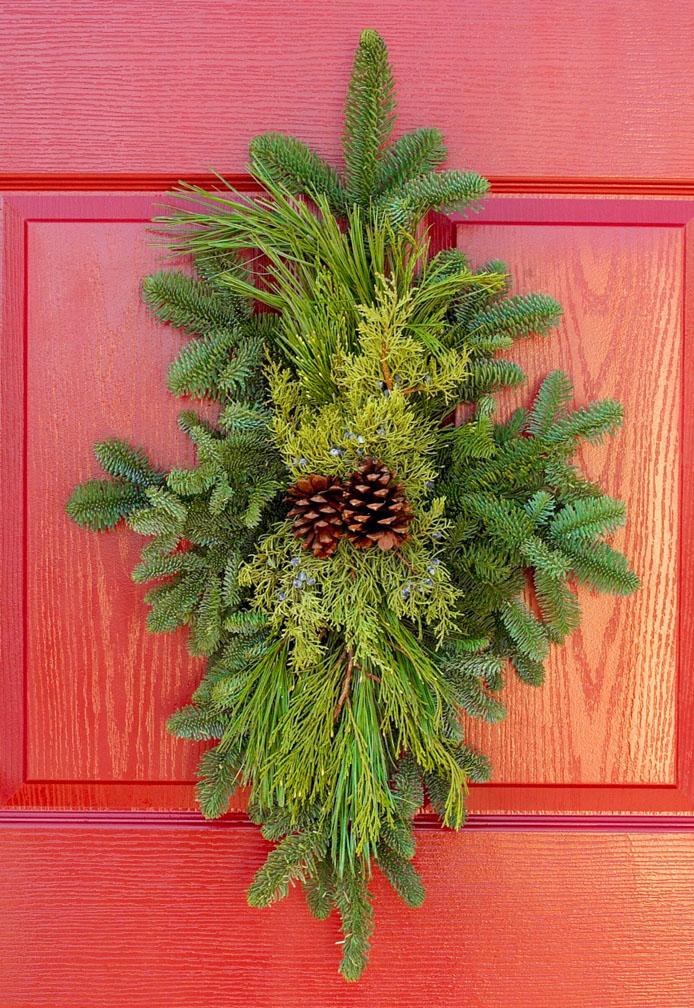 Deluxe Door Charm & Deluxe Door Charm - Mattern\u0027s Pine Ridge Nursery   Tree Farm